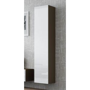 CAMA MEBLE Vigo 180 skrinka na stenu latte / biely lesk